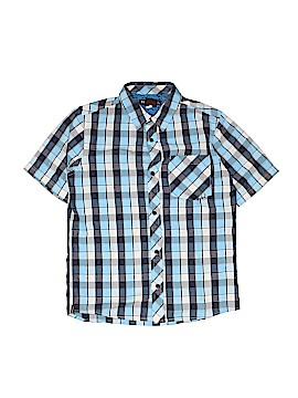 Hawk Short Sleeve Button-Down Shirt Size L (Infants)