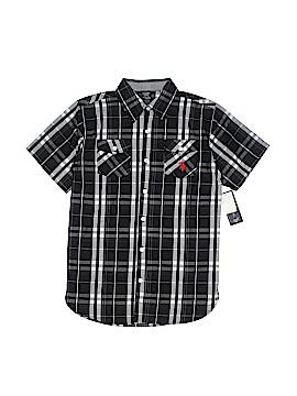 U.S. Polo Assn. Short Sleeve Button-Down Shirt Size 10