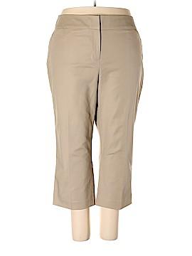 Dana Buchman Khakis Size 22 (Plus)