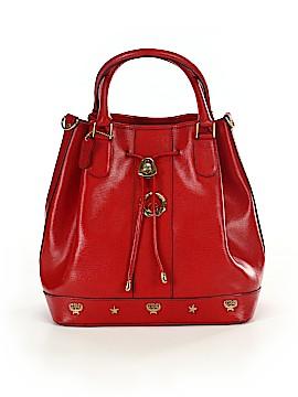 Goldlion Leather Bucket Bag One Size