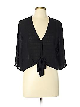 BCBGeneration 3/4 Sleeve Blouse Size L