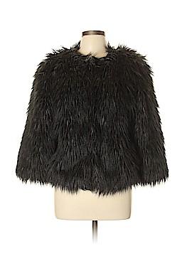 WD.NY Faux Fur Jacket Size L