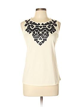 Joan Vass Sleeveless Blouse Size 10 (2)