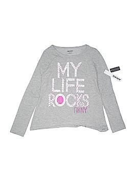 DKNY Long Sleeve T-Shirt Size M (Kids)