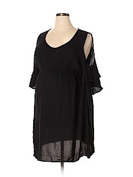 Oh! Mamma Short Sleeve Top Size 2X (Maternity)
