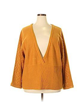 Motto Pullover Sweater Size 2X (Plus)