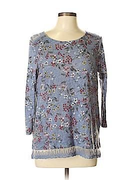 LC Lauren Conrad 3/4 Sleeve Top Size L