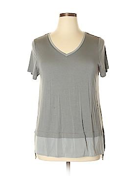 Cynthia Rowley TJX Short Sleeve Top Size XL