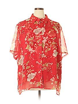 Kathie Lee Short Sleeve Blouse Size 26 - 28 (Plus)