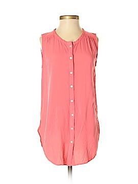 Ann Taylor LOFT Sleeveless Button-Down Shirt Size XS