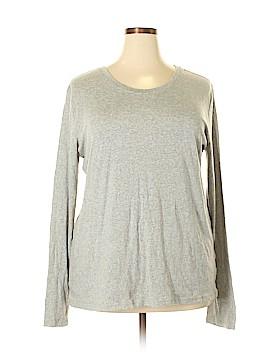 Ellen Tracy Long Sleeve T-Shirt Size 2X (Plus)