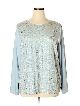 Isaac Mizrahi LIVE! Sweatshirt Size XL