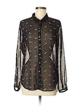 Philosophy Republic Clothing Long Sleeve Blouse Size M