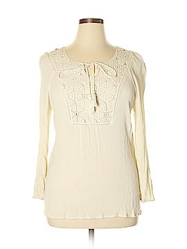 Krazy Kat Long Sleeve Blouse Size XL