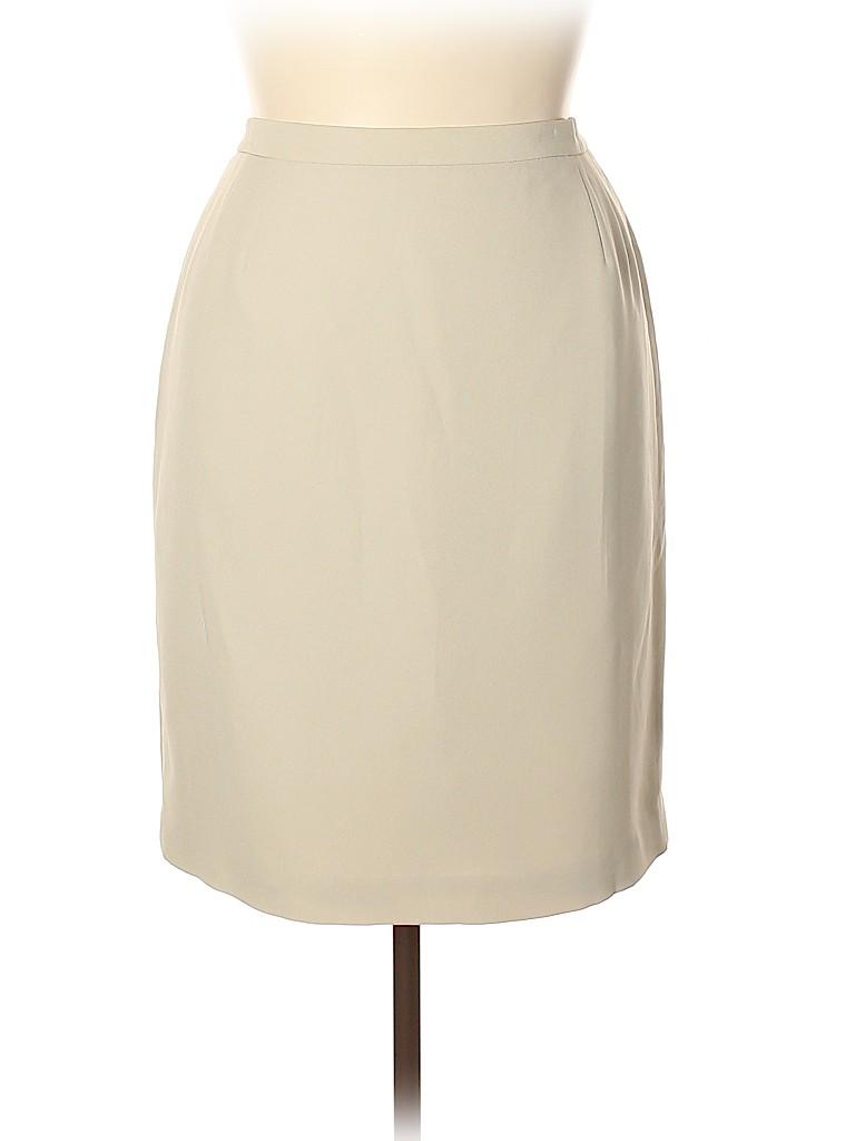 Casual Corner Annex Women Casual Skirt Size 1X (Plus)