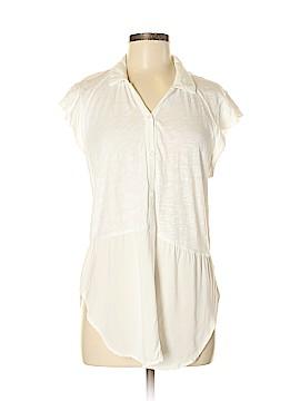 Left of Center Short Sleeve Blouse Size M