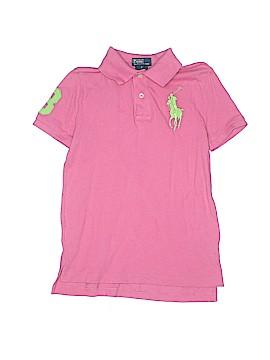 Polo by Ralph Lauren Short Sleeve Button-Down Shirt Size 7