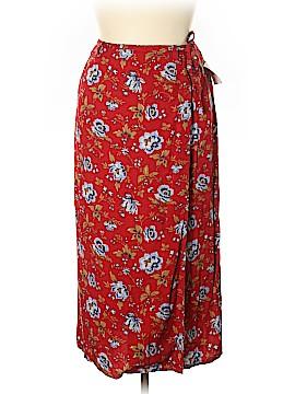 Crazy Horse by Liz Claiborne Casual Skirt Size 14 (Petite)