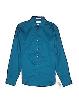 Calvin Klein Long Sleeve Button-Down Shirt Size 16