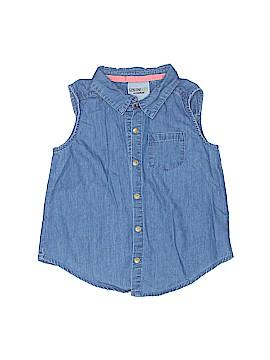 Genuine Kids from Oshkosh Sleeveless Button-Down Shirt Size 5T