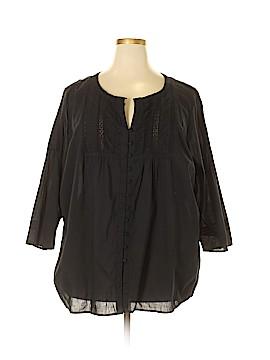 Avenue 3/4 Sleeve Blouse Size 30 - 32 Plus (Plus)