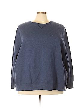 Just My Size Sweatshirt Size 5X (Plus)