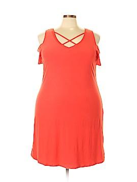 Eye Candy Casual Dress Size 3X (Plus)