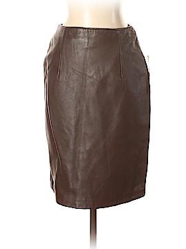 Jacqueline Ferrar Leather Skirt Size 4