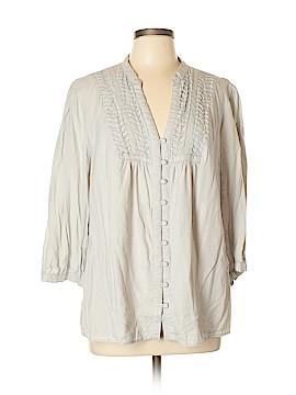 Carole Little Long Sleeve Top Size XL