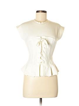 Honey Punch Short Sleeve Blouse Size M