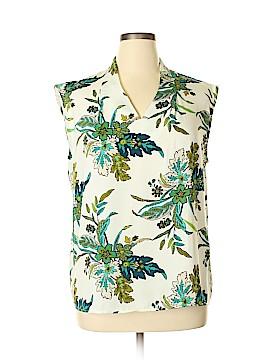 Liz Claiborne Short Sleeve Blouse Size XL