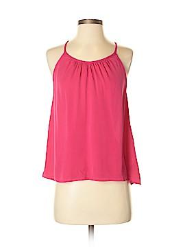 Rebecca Minkoff Sleeveless Silk Top Size S