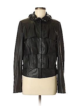 Diane von Furstenberg Leather Jacket Size 6