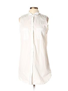 LOGO Sleeveless Button-Down Shirt Size 12