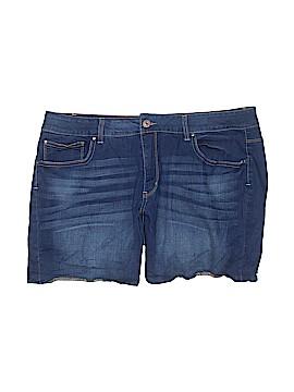 Faded Glory Denim Shorts Size 18 (Plus)