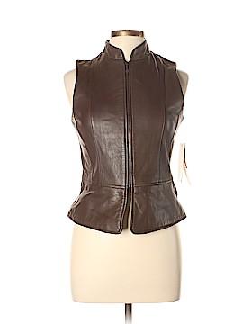 Jacqueline Ferrar Leather Jacket Size 4