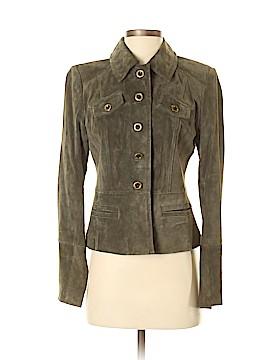 Ann Taylor LOFT Leather Jacket Size 2