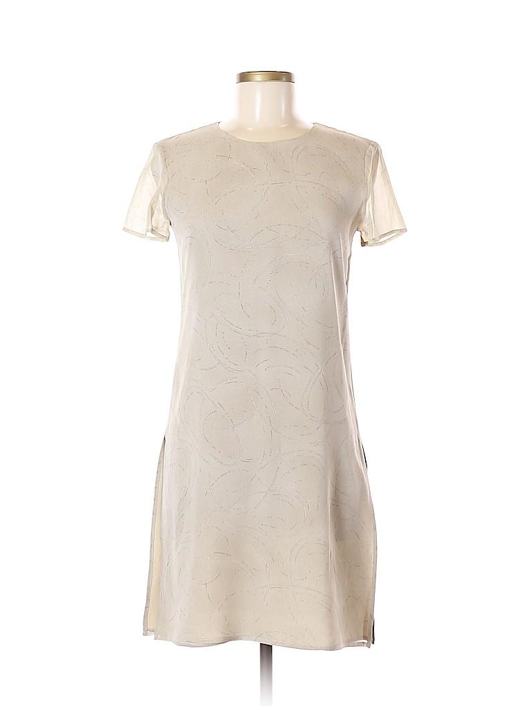 Max Mara Women Short Sleeve Silk Top Size Med (2)