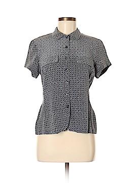 Jones New York Short Sleeve Silk Top Size 8
