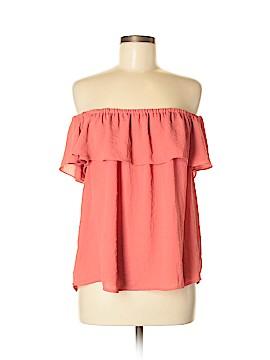 Maeve Short Sleeve Blouse Size M