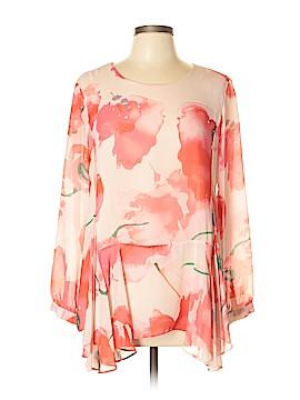 CeCe Long Sleeve Blouse Size L