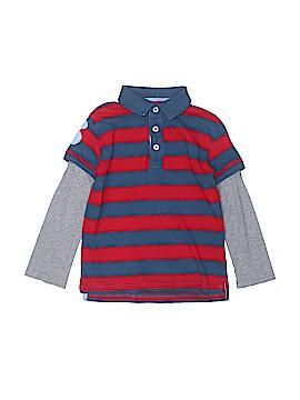 Mini Boden Long Sleeve Polo Size 5 - 6
