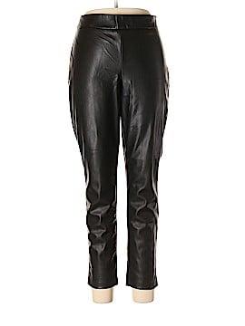 Ann Taylor Faux Leather Pants Size 12
