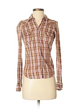 Aeropostale Long Sleeve Button-Down Shirt Size XS