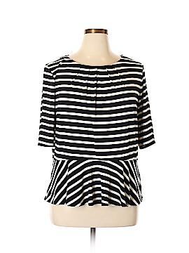 Liz Claiborne 3/4 Sleeve Top Size XXL