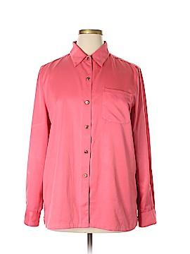 Draper's & Damon's Long Sleeve Blouse Size XL