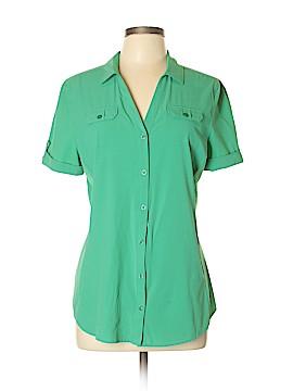 REI Short Sleeve Blouse Size L