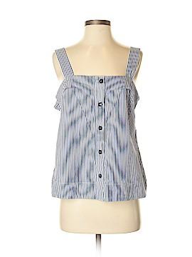Banana Republic Sleeveless Button-Down Shirt Size S