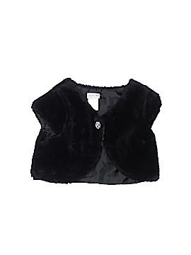 Sweet Heart Rose Faux Fur Vest Size 6 - 6X
