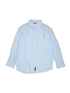 U.S. Polo Assn. Long Sleeve Button-Down Shirt Size 12